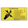 Electric Fence Warning Sign  18-170