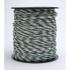 5mm Green/White Supercharge 5 strand rope 200m 47P51-2G