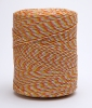 Supercharge Orange/White 9 Strand Electric Fence Poly Wire 250m 47P62